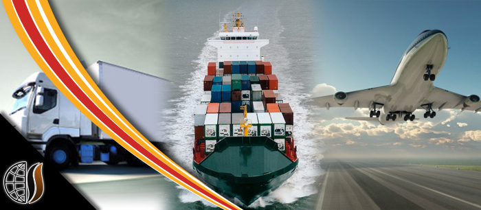 Air Freight, Sea Freight, and Trucking.